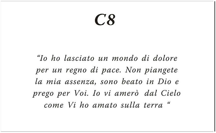 Amato Esempi Frasi Ricordini Funebri KN18